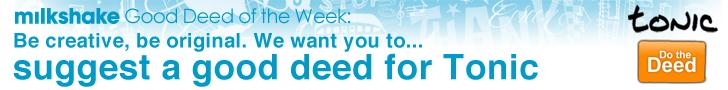 tonic good deed week 5 banner