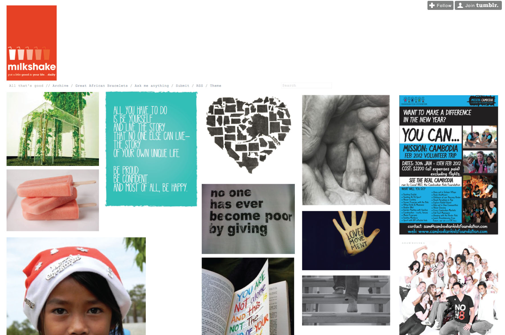 Make a Tumblr Page in 60 Minutes or Less