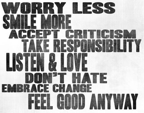 Simple words, Big impact