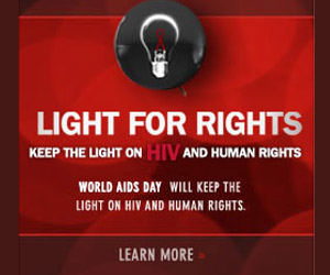 Light For Rights Ad