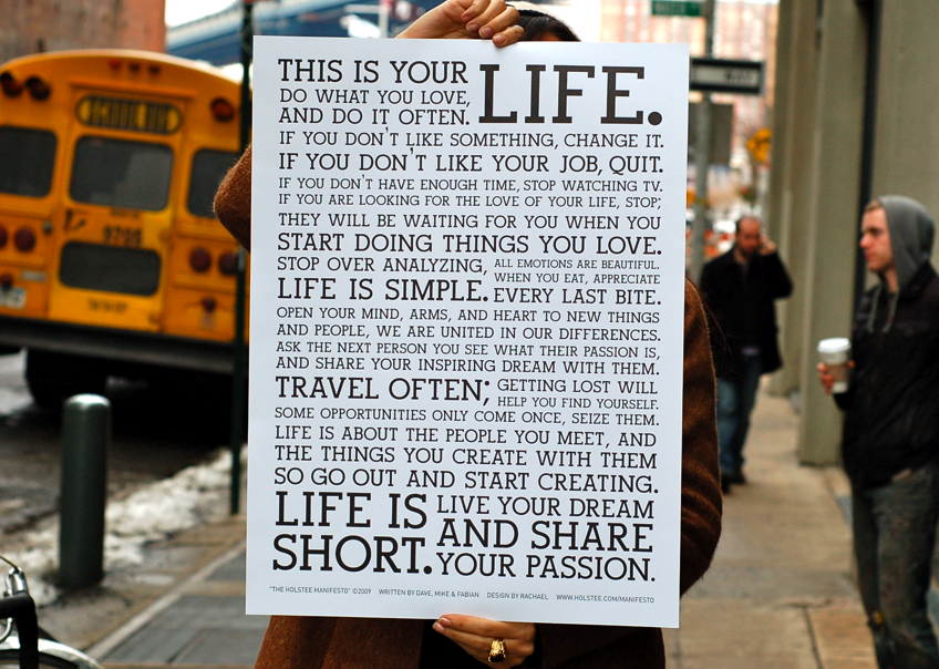 This is your life… do what you love