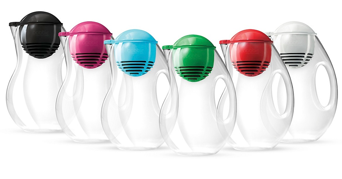 Milkshake good finds that give back making tap water cool - Bobble water pitcher ...
