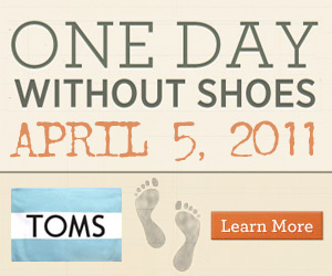 One day without shoes box