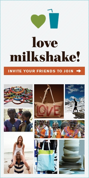 Love Milkshake Rectangle