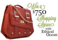 Our Gift to You: A $750 Shopping Spree at Ethical Ocean