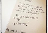 Little Things Mean a Lot: 26 Acts of Kindness