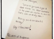 Inspiring By Example: 26 Acts of Kindness