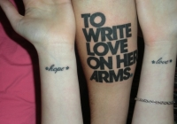 The Writing's On The Wrists